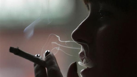 smoking can cause depression, making it that much more difficult to quit